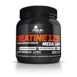 CREATINE 1250 MEGA CAPS 400 CAPS