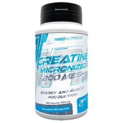 CREATINE MICRONIZED 200 MESH + TAURINE.  60 CAPS